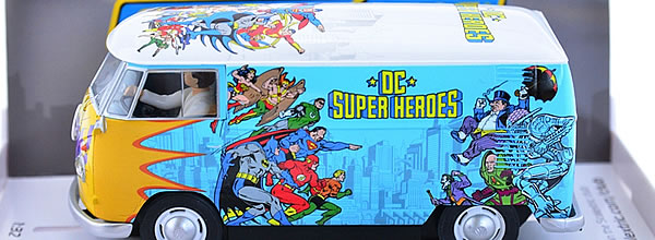 Scalextric: Le VW Panel Van T1b - DC Comics - C3933