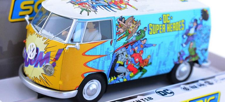 Scalextric: Le VW Panel Van T1b – DC Comics – C3933