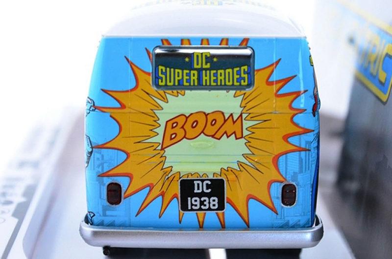 Scalextric Le VW Panel Van T1b - DC Comics - C3933