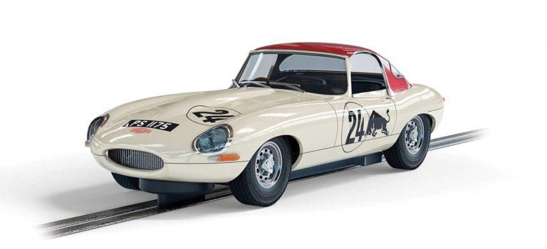 Scalextric: la Jaguar Type E – Goodwood Revival – Adrian Newey