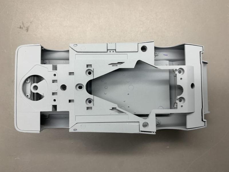 Sideways la Ford Escort Groupe 5 pour le slot se prépare