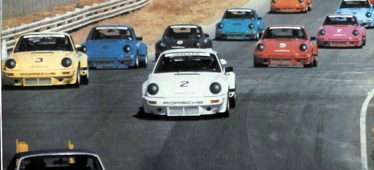 Slotwings: Trois Porsche Carrera RSR IROC 1973 en approchent