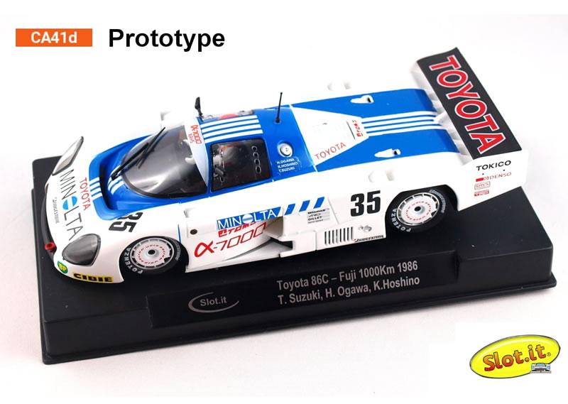 Toyota 86 C - #35 Fuji 1000 Km 1986 - T. T. Suzuki, H. Ogawa, K. Hoshino - CA41d