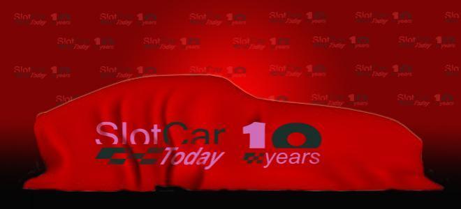 Slotcar Today fête ses 10 ans avec une slot car