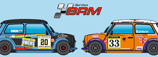 BRM: Deux Mini Cooper 1/24 Mini Miglia Challenge 2016