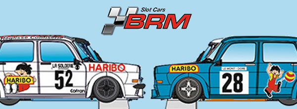 """BRM: Deux Simca 1000 """"Haribo"""" championnat de France des Montagnes 1978"""