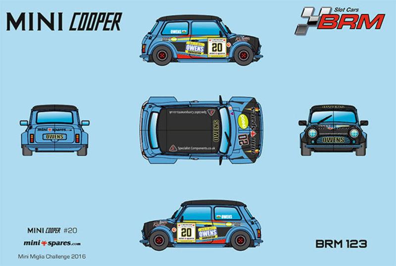 BRM - Mini Cooper #20 - Mini Miglia Challenge 2016