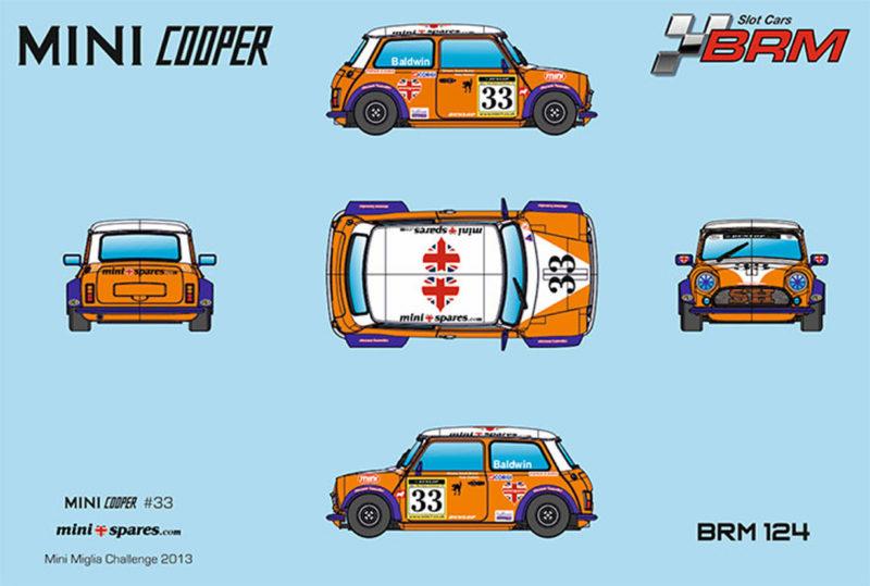 BRM - Mini Cooper #33 - Mini Miglia Challenge 2016