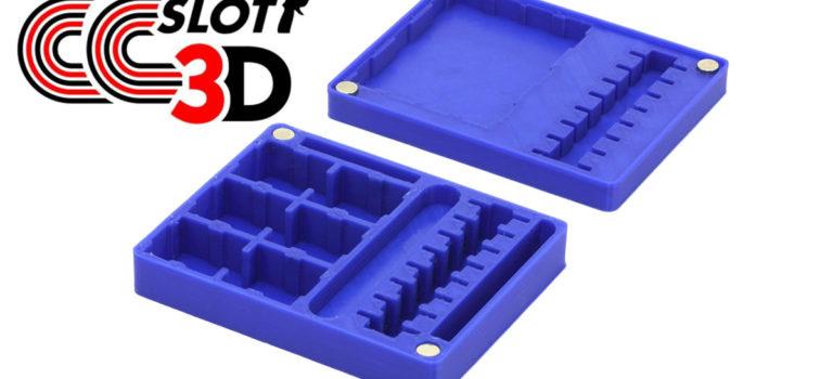 CC Slot 3D: Une gamme de boîtes de rangement en impression 3D.