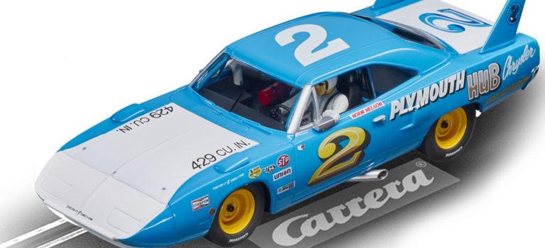Carrera: la Plymouth Superbird #2 1970 à l'échelle 1/32
