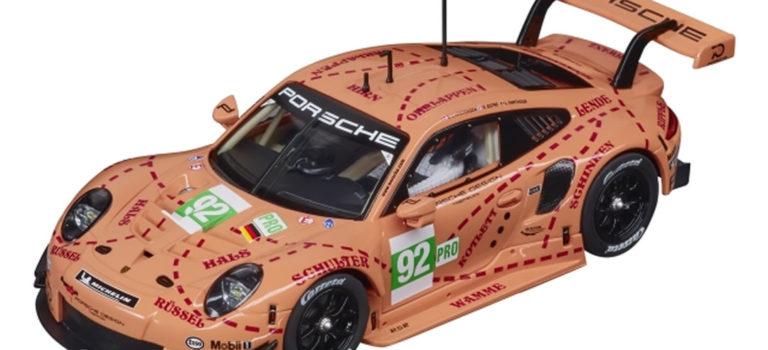Carrera: la Porsche 911 RSR Pink Pig 2018 – 1/32