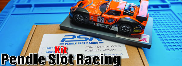 Le Kit Pendle Slot Racing pour la Marcos de Revoslot by Claude