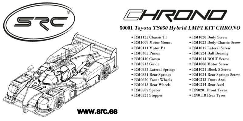 Les caractéristiques de la Toyota TS050 Chrono