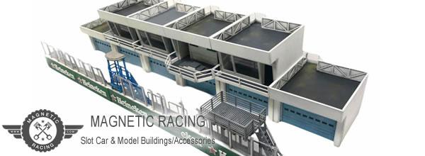 Magnetic Racing Tout pour décorer vos pistes de slot racing
