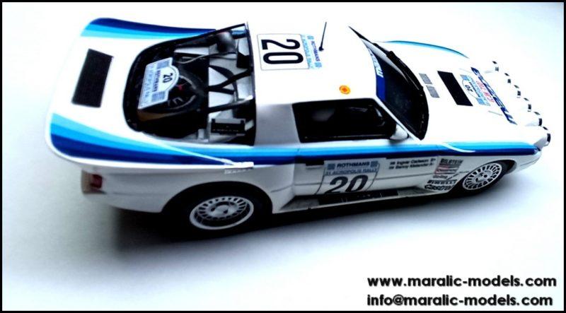 Maralic - Mazda RX-7 pilotée par Ingvar Carlsson et Benny Melander  - C-2103