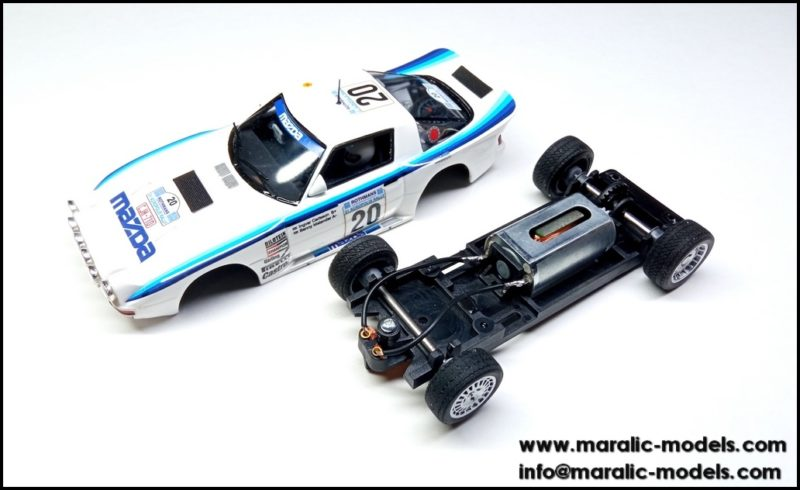 Maralic - Mazda RX-7 pilotée par Ingvar Carlsson et Benny Melander  - C-2103-9