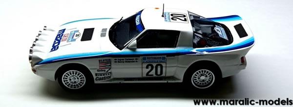 Maralic: la Mazda RX-7 GrB rallye de l'acropole 1984