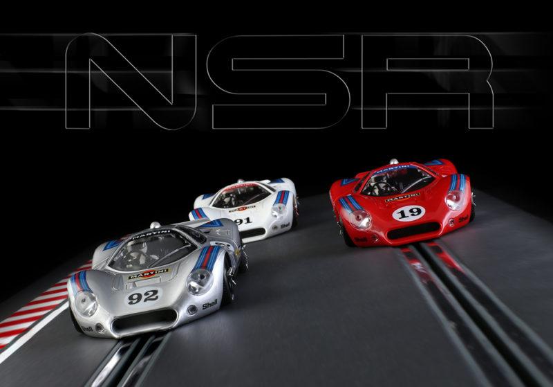 NSR Un trio de P68 aux couleurs de Martini Racing