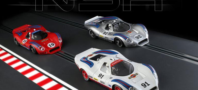 NSR: Un trio de P68 aux couleurs de Martini Racing