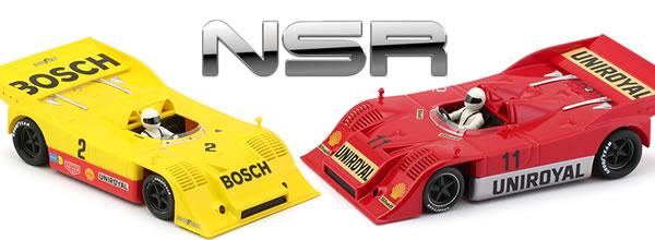 NSR: les deux Porsche 917/10K Nurburgring Interserie 1973