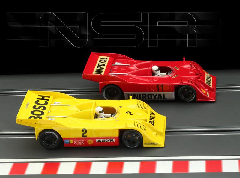 NSR les deux Porsche 917-10K Nurburgring Interserie 1973
