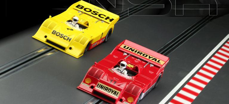 NSR: les deux Porsche 917/10K Nurburgring Interséries 1973