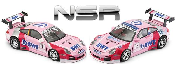 NSR les deux Porsche 997 BWT Supercup 2019