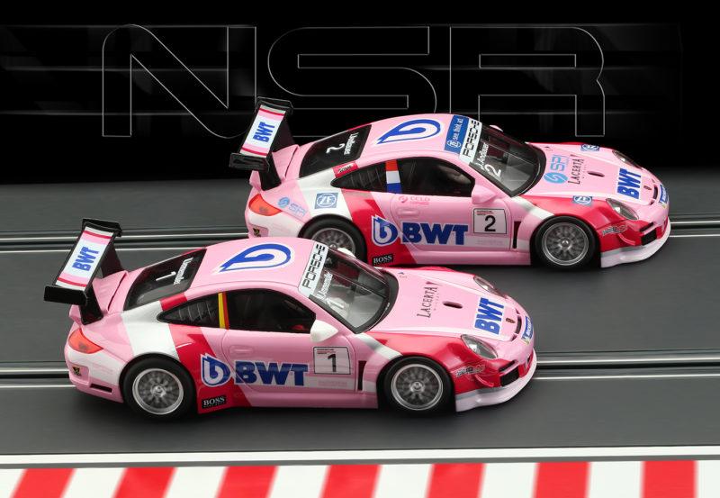 NSR: les deux Porsche 997 BWT Supercup 2019