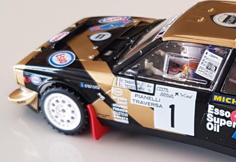SRC - Lancia Delta S4 Tabaton Rallye Costa Brava 1986 - Ref04003