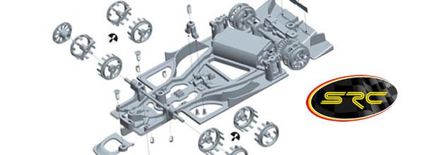 SRC: les instructions de montage du kit de la Toyota TS50 sont en ligne
