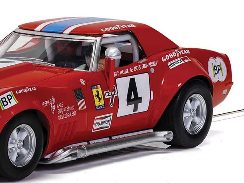 Scalextric  la Chevrolet Corvette L88 – Le Mans 1972 – NART - ref C4215