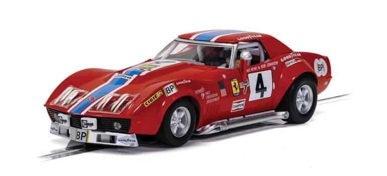 Scalextric: la Chevrolet Corvette L88 – Le Mans 1972 – NART – ref C4215
