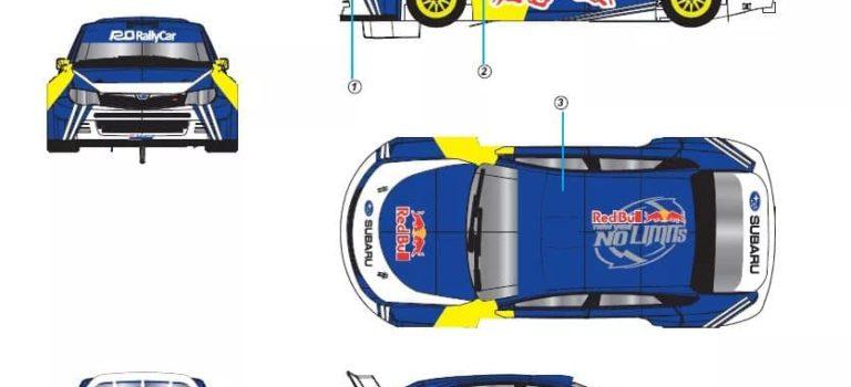 Avant Slot: la Subaru Impreza STI pour le slot racing