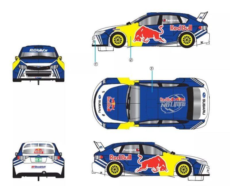 Subaru Impreza STI - Red Bull - Travis Pastrana Mont Washington 2010