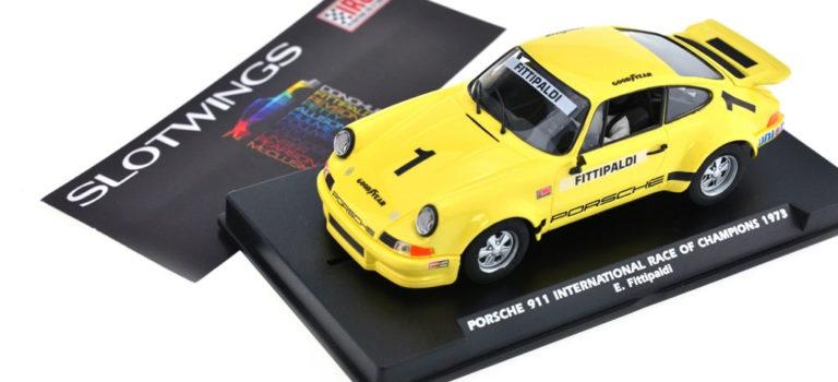 Slotwings: Les photos des trois Porsche Carrera RSR IROC 1973