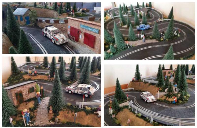 maquette rallye