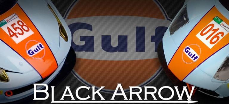 Black Arrow: Une collection de slot cars Gulf Oil
