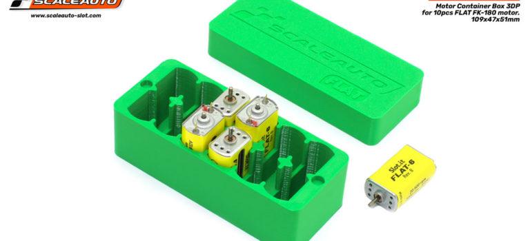 Scaleauto: des boites pour ranger les moteurs de vos slot cars