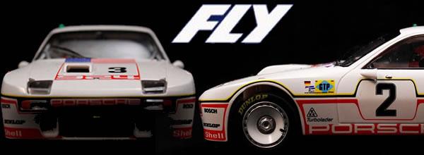 Fly Car Model: les deux Porsche 924 GT Turbo 24 heures du Mans en 1980