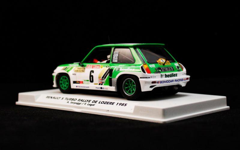 Fly Slot Car – R5 Turbo Rallye de Lozère 1985 Alain Serpaggi  Yves Légal - REF E2016