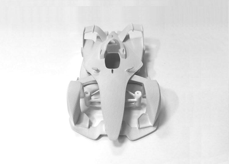 Imola Cars Une Formule E 132 en impression 3d