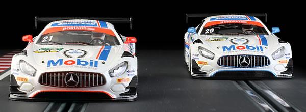 NSR: les Mercedes AMG GT3 - Team Zakspeed BKK Mobil Oil Racing 2019