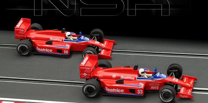 NSR: les deux F1 86/89 Beatrice en préparation