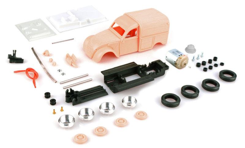 PCS kit complet de la 2CV fourgonnette