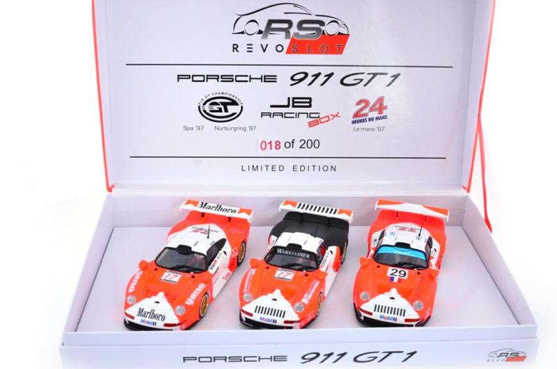 Porsche 911 GT1 Marlboro Triple Pack – Revoslot RS0092