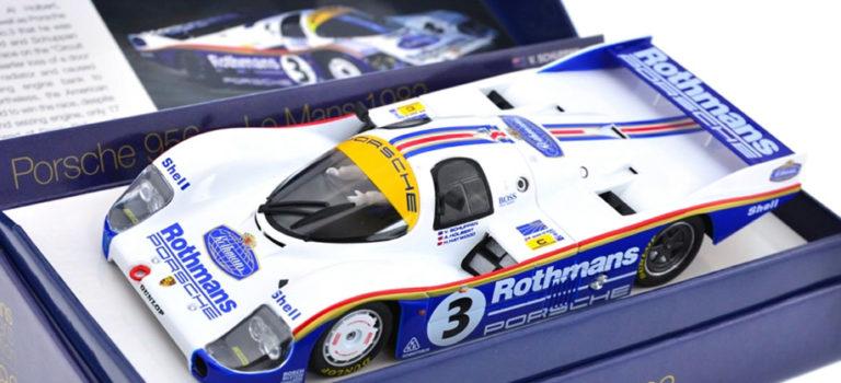 Slot.it: Les photos du coffret Porsche 956 LH #3 Rothmans Le Mans Winner