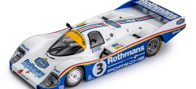 Slot.it: la Porsche 956 LH #3 24h Le Mans Winner 1983 – CW24