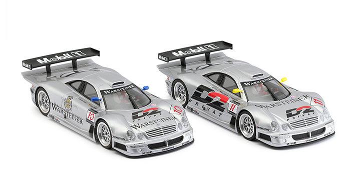Revoslot: les Mercedes CLK GTR du Team AMG se dévoilent.