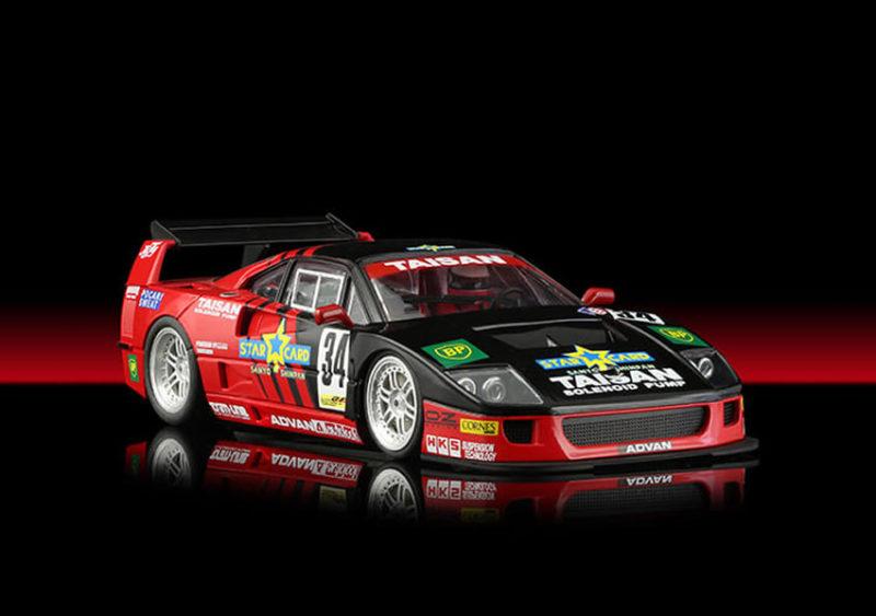 Revoslot RS0097 - Ferrari F40 Taisan Rossonera #34 Hideshi Matsuda JGTC 1994