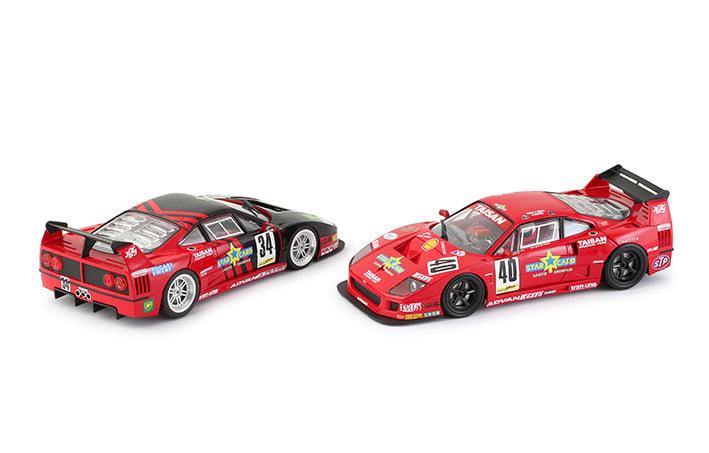 Revoslot RS0099 - Pack de deux Ferrari F40 Taisan # 40 et # 34